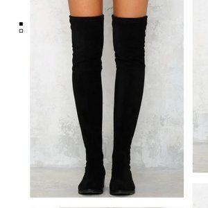 Lipstik Magda Thigh High Boots